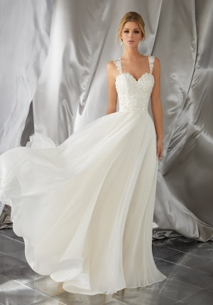 Mori Lee 6867 Meera Wedding Dress