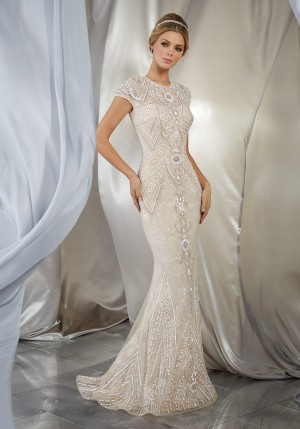 Mori Lee 6869 Musidora Wedding Dress