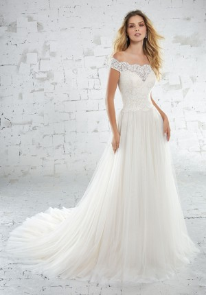 Mori Lee 6881 Beach Wedding Dress