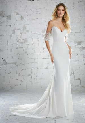Mori Lee 6883 Beach Wedding Dress
