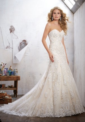 Mori Lee 8102 Mackinley Wedding Dress