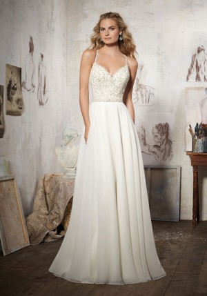 Mori Lee 8106 Maelani Wedding Dress