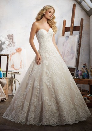 Mori Lee 8108 Magdalena Wedding Dress
