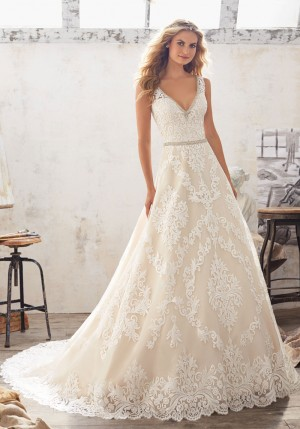 Mori Lee 8124 Morgan Wedding Dress