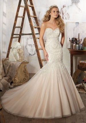 Mori Lee 8125 Mariela Wedding Dress