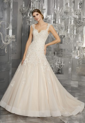 Mori Lee 8174 Monique Wedding Dress