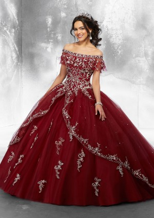 6e7a50bbc0 Mori Lee 89181 Off-The-Shoulder Quinceanera Dress