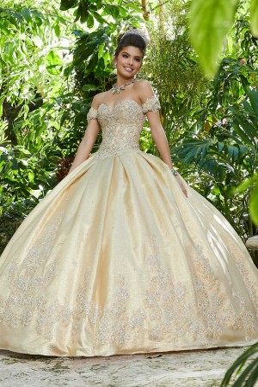 2d47b468843 Mori Lee 89242 Pleated Skirt Quinceanera Dress