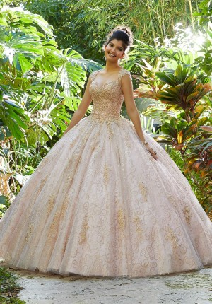 b4239508b2d Mori Lee 89246 Sweetheart Neck Quinceanera Gown