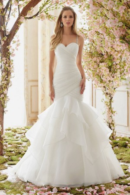 Mori Lee Voyage 6833 Wedding Dress