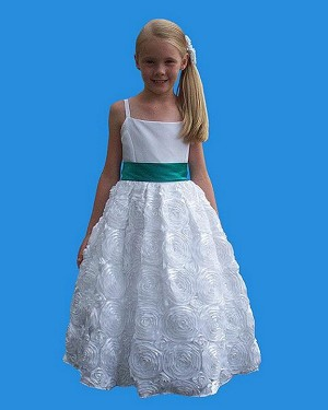 RoseBud 5121 Flower Girl Dress