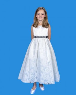 Rosebud Fashions 5124 Flower Girl Dress