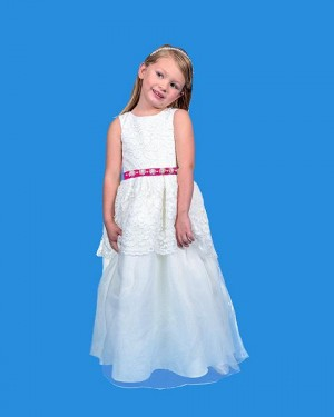 Rosebud Fashions 5125 Flower Girl Dress