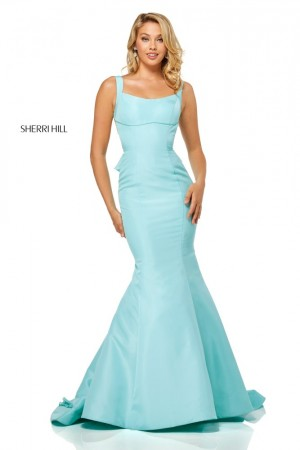Sherri Hill 52465 Ruffle Back Prom Dress