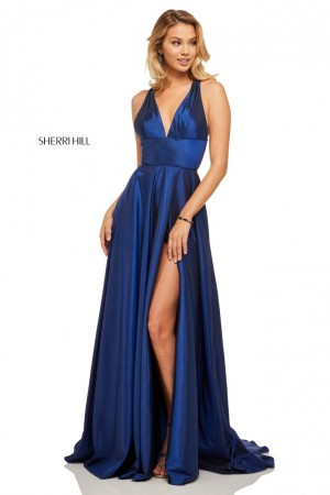 890fe9af159 Sherri Hill 52923 Open Back Prom Gown