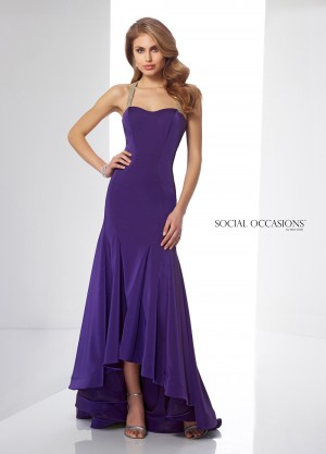 Social Occasions by Mon Cheri 217841 Evening Dress