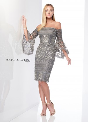 Social Occasions by Mon Cheri - Dress Style 218801