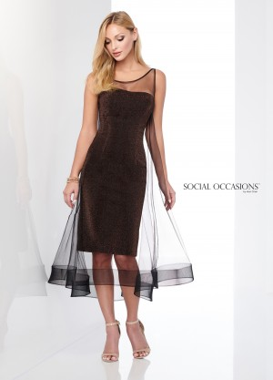 Social Occasions by Mon Cheri - Dress Style 218802