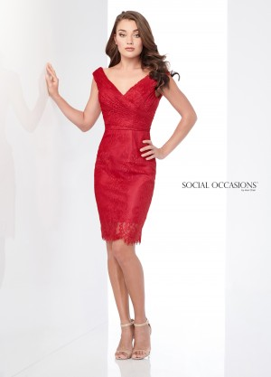 Social Occasions by Mon Cheri - Dress Style 218804