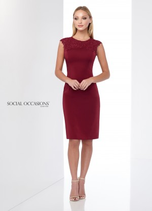 Social Occasions by Mon Cheri - Dress Style 218812