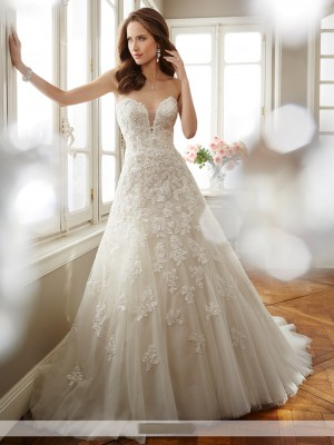 Sophia Tolli Y11725 Antoinette Wedding Dress