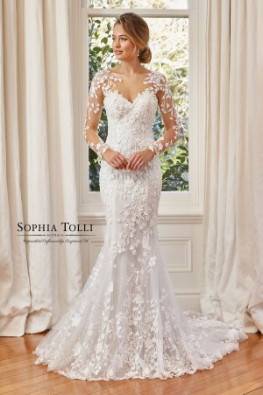 Sophia Tolli - Dress Style Y11964FLB Leona