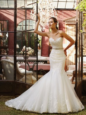Sophia Tolli Y21376 Begonia Wedding Dress