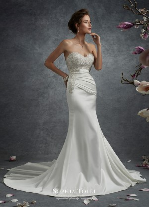 Sophia Tolli Y21744 Nebula Wedding Dress