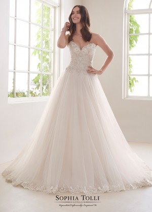 Sophia Tolli - Dress Style Y21816 Morganite