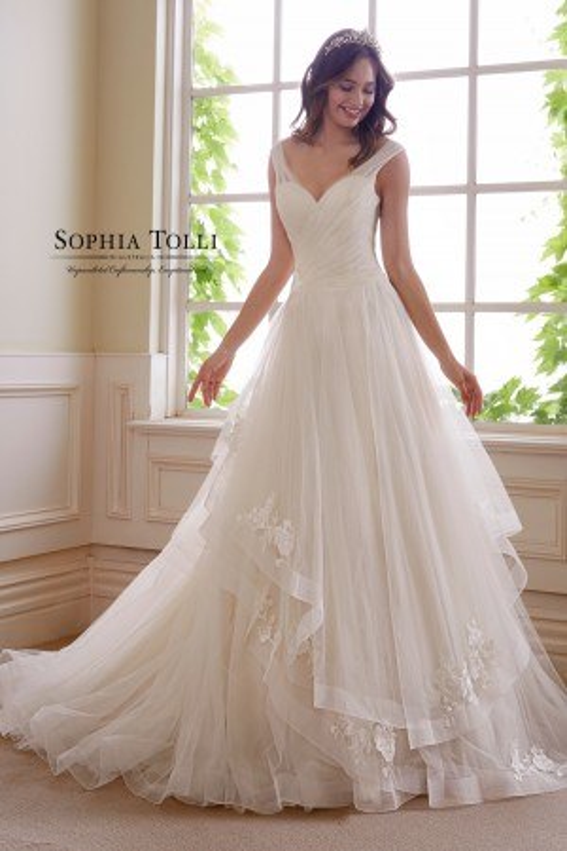 Sophia Tolli - Dress Style Y21824 Verdite