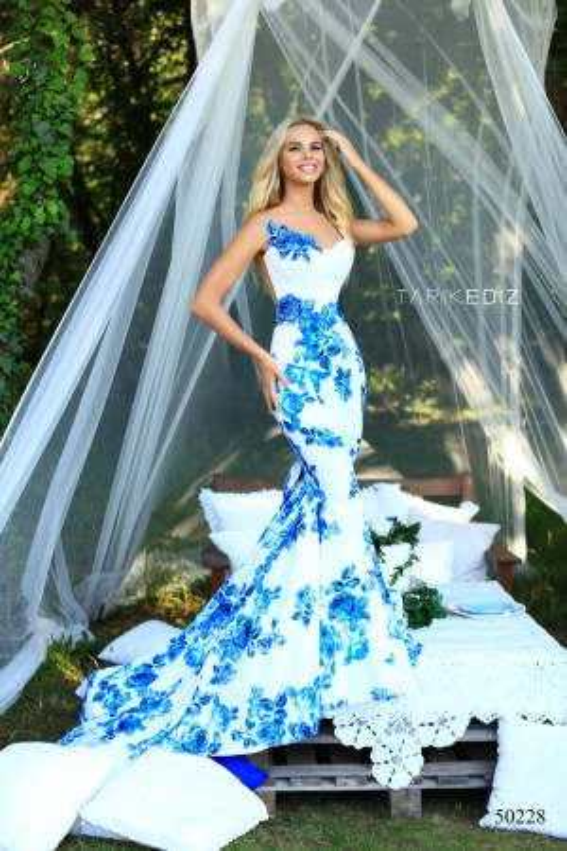 Tarik Ediz - Dress Style 50228