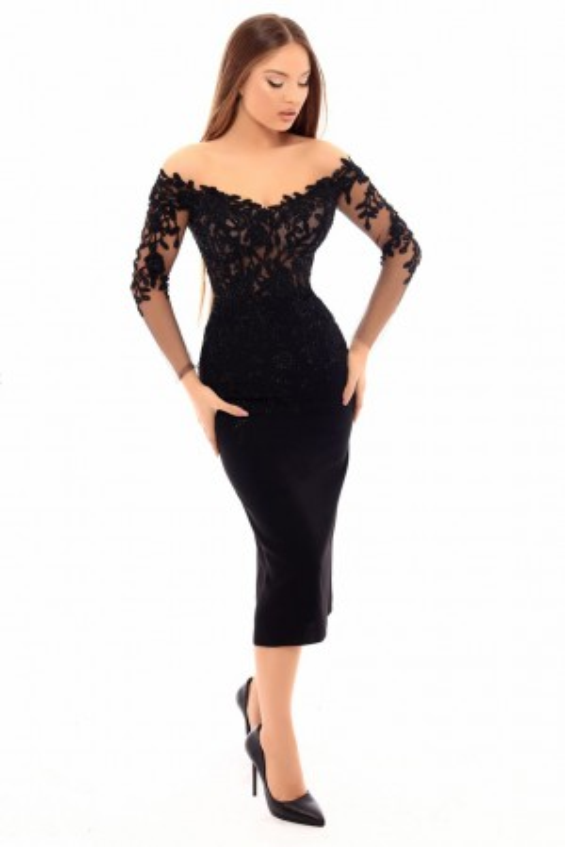 Tarik Ediz - Dress Style 93615