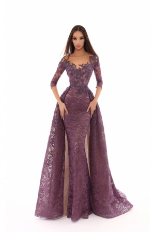 Tarik Ediz - Dress Style 93633