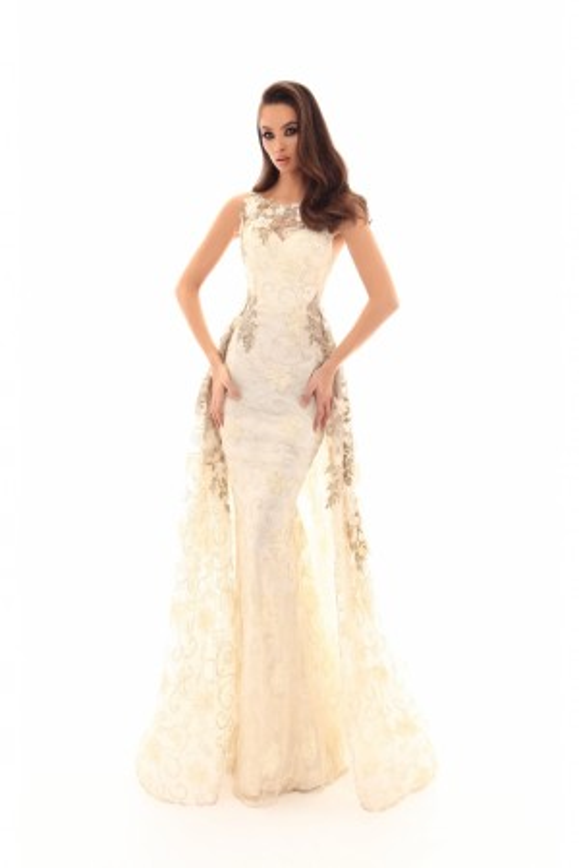 Tarik Ediz - Dress Style 93658