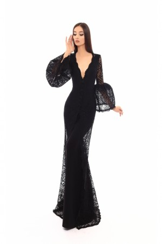 Tarik Ediz - Dress Style 93719
