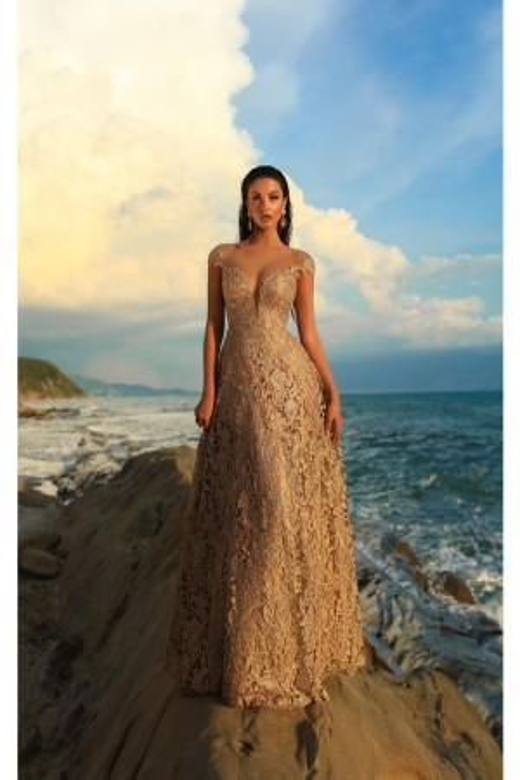 Tarik Ediz - Dress Style 93739