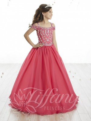 Tiffany Princess 13515 Pageant Dress