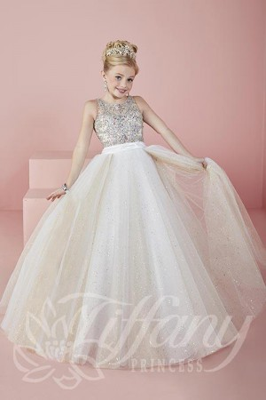 Tiffany Princess 13476 Pageant Dress