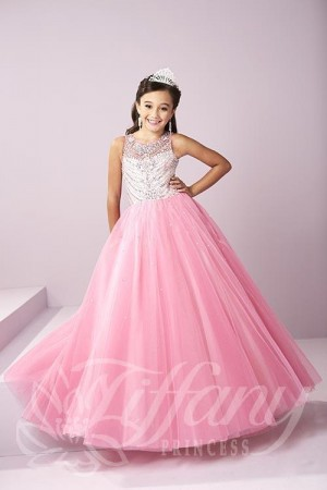 Tiffany Princess 13484 Pageant Dress