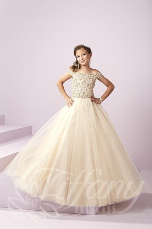 Tiffany Princess 13487 Pageant Dress