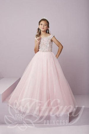 Tiffany Princess 13491 Pageant Dress