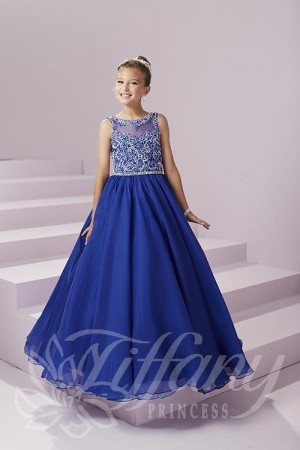 Tiffany Princess 13496 Pageant Dress