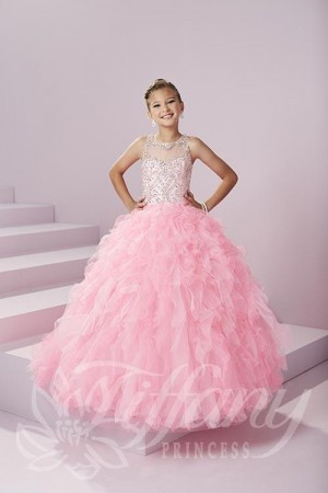 Tiffany Princess 13497 Pageant Dress