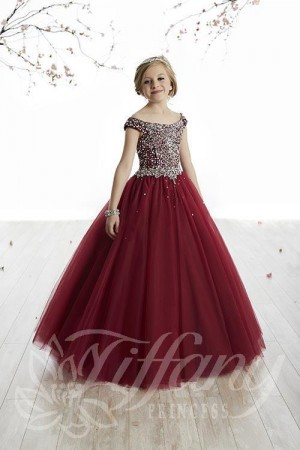 Tiffany Princess 13505 Pageant Dress