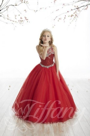 Tiffany Princess 13511 Pageant Dress