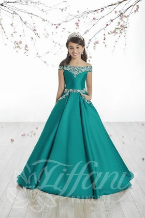Tiffany Princess 13513 Pageant Dress