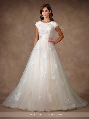 Traditions by Mon Cheri TR11702 Wedding Dress