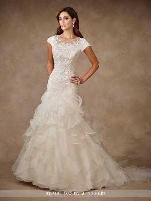 Traditions by Mon Cheri TR11704 Wedding Dress