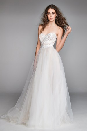 Willowby 50703 Mandara Strapless Sweetheart Neck Wedding Dress