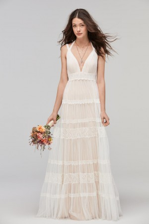 Willowby 59100 Sonoran V Neck Wedding Dress